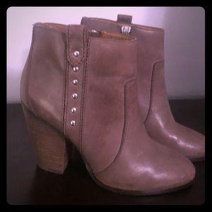 Coach Block Heel Booties Size 7.5